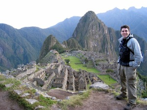 Me at Machu Picchu in 2008